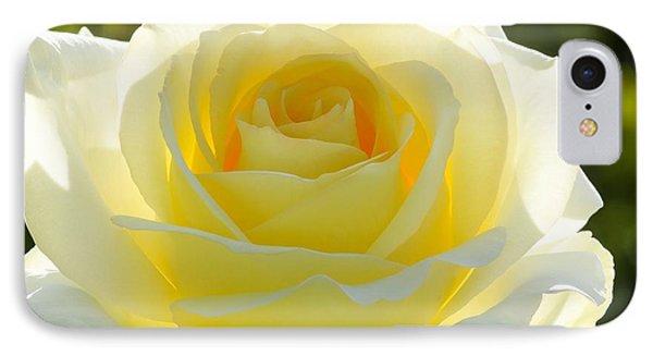 Mellow Yellow Rose Phone Case by Sabrina L Ryan