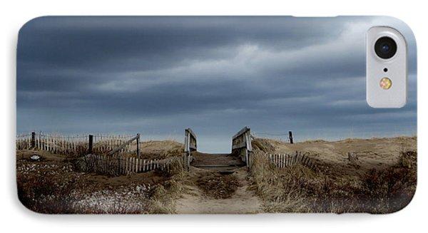 IPhone Case featuring the photograph Melmerby Beach Boardwalk by Kathleen Sartoris