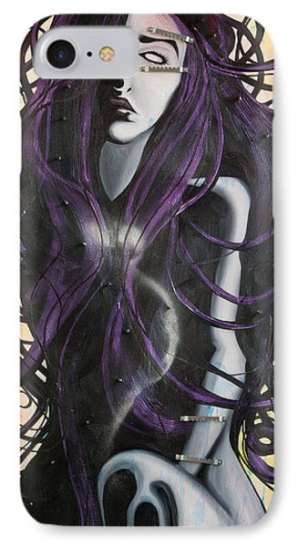 Melpomene IPhone Case by Sheridan Furrer