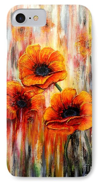 Melting Flowers IPhone Case by Greg Moores