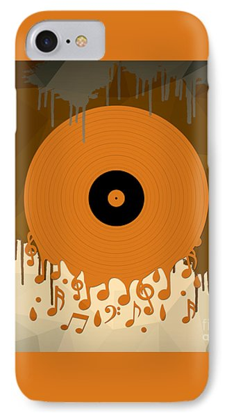 Melting Music IPhone Case by Bedros Awak