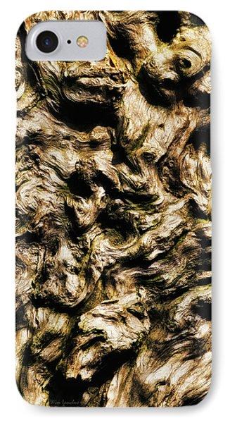 Melting Wood Phone Case by Wim Lanclus