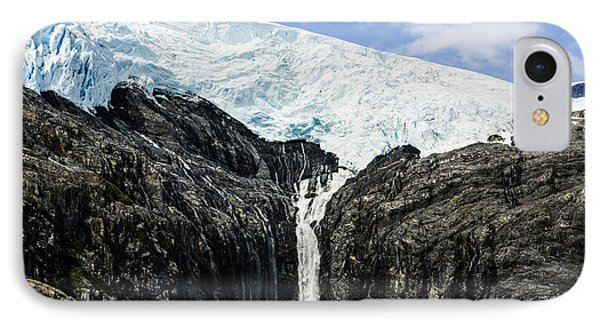 Meltwater From The Northland Glacier IPhone Case by Ray Bulson