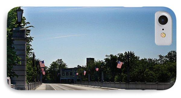 Memorial Avenue Bridge Roanoke Virginia Phone Case by Teresa Mucha