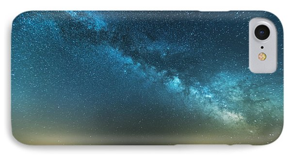 Memorial Day Milky Way IPhone Case by Patrick Fennell