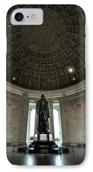 Memorial To Thomas Jefferson IPhone 7 Case by Andrew Soundarajan