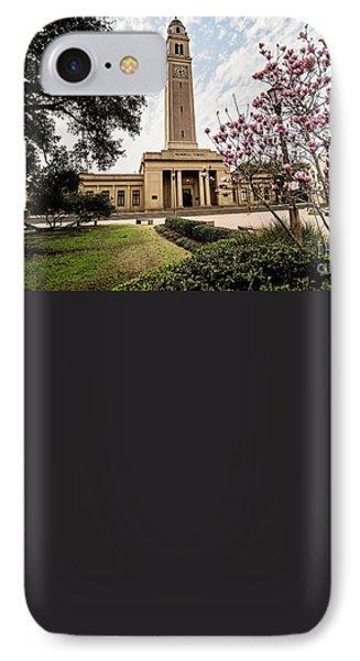 Memorial Tower - Lsu IPhone Case by Scott Pellegrin
