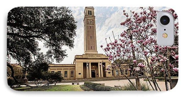 Memorial Tower Phone Case by Scott Pellegrin