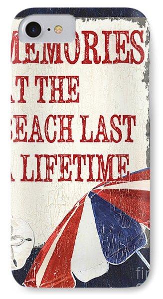 Memories At The Beach IPhone Case by Debbie DeWitt
