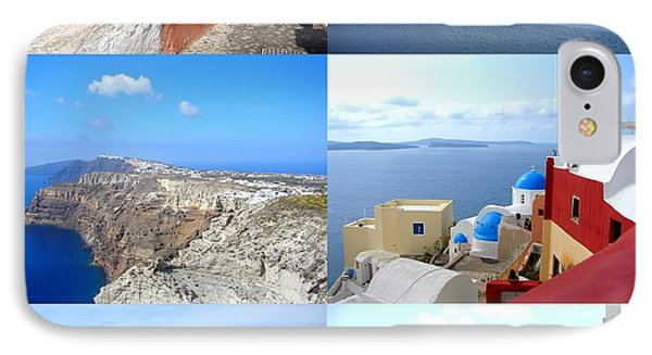 IPhone Case featuring the photograph Memories From Santorini by Ana Maria Edulescu