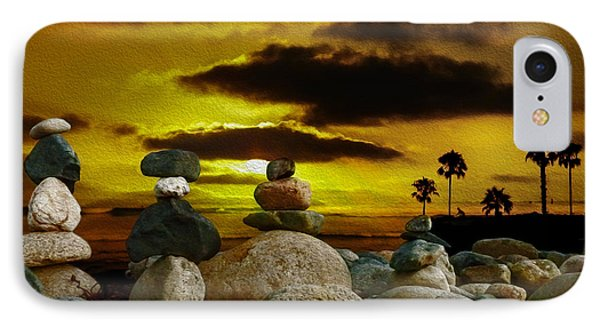 Memories In The Twilight Phone Case by Rhonda Strickland