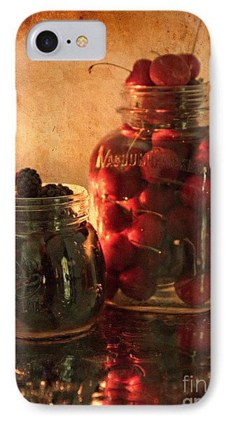 Memories Of Jams, Preserves And Jellies  IPhone Case by Sherry Hallemeier