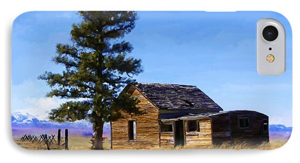 Memories Of Montana IPhone Case by Susan Kinney