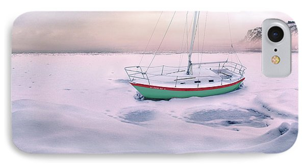 IPhone Case featuring the photograph Memories Of Seasons Past - Prisoner Of Ice by John Poon