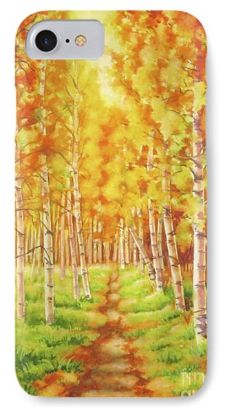 Memories Of The Birch Country IPhone Case by Inese Poga