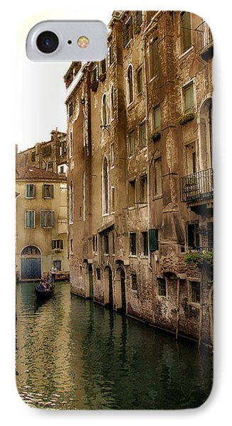Memories Of Venice IPhone Case by Julie Palencia