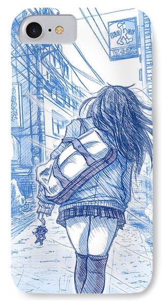 Memory Lane II IPhone Case by Tuan HollaBack