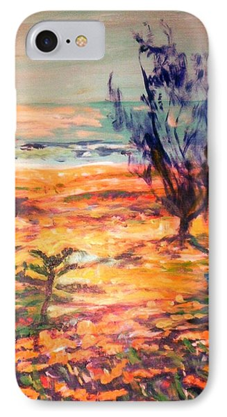 IPhone 7 Case featuring the painting Memory Pandanus by Winsome Gunning