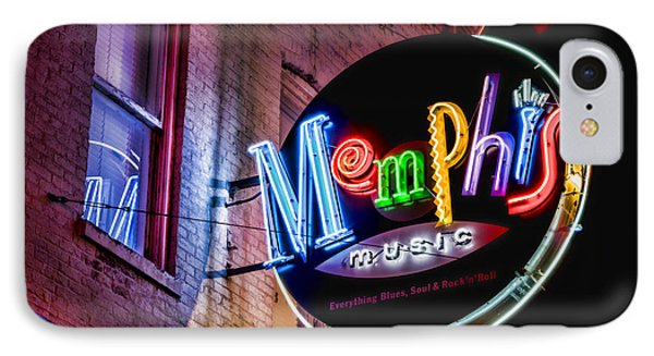 Memphis Music IPhone Case by Stephen Stookey