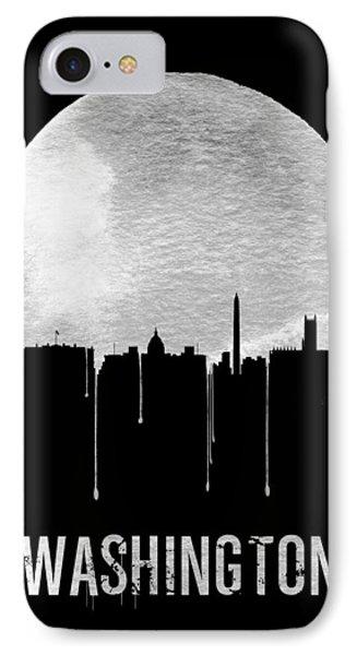 Memphis Skyline Black IPhone 7 Case by Naxart Studio