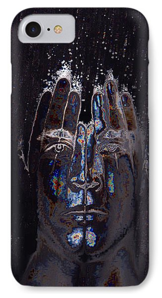 Men Are From Mars Silver IPhone Case by ISAW Gallery