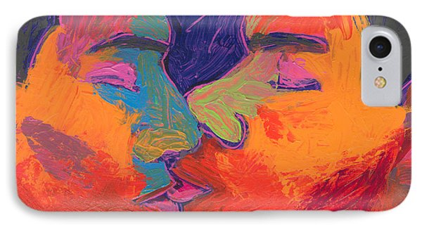 Men Kissing Colorful 2 IPhone Case