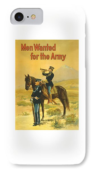 Men Wanted For The Army Phone Case by War Is Hell Store