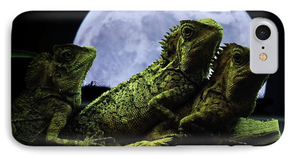 IPhone Case featuring the photograph Menage A Trois by Jeremy Martinson