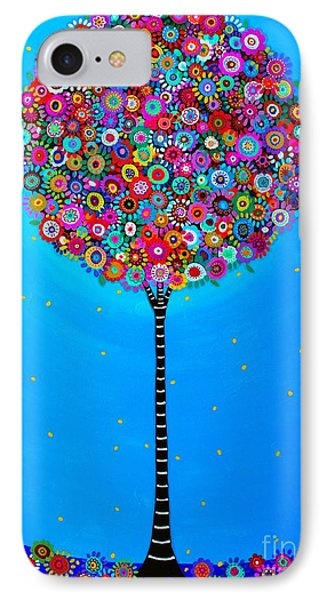 IPhone Case featuring the painting Purpose Of Life by Pristine Cartera Turkus