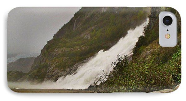 Mendenhall Glacier Park IPhone Case by Martin Cline