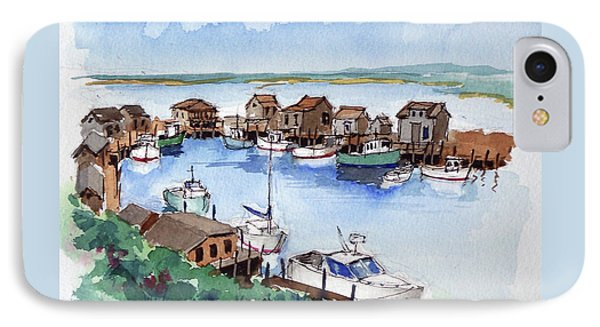 Menemsha Safe Haven Phone Case by John Crowther