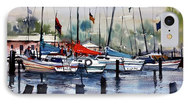 Menominee Marina IPhone Case