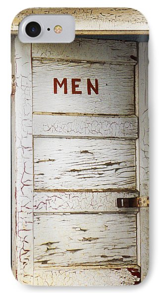 Men's Room IPhone Case by Marilyn Hunt