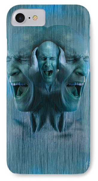 Mental Illness IPhone Case by George Mattei