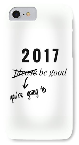 iPhone 7 Case - New Year by Jul V
