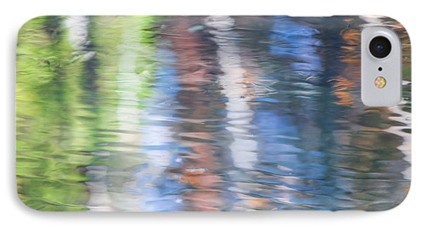 Merced River Reflections 8 IPhone Case by Larry Marshall