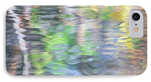 Merced River Reflections 9 IPhone Case by Larry Marshall