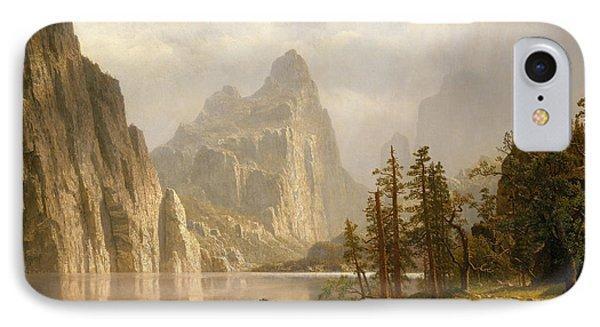 Merced River, Yosemite Valley, 1866 IPhone Case
