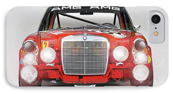 Mercedes-benz 300sel 6.3 Amg IPhone Case by Alain Jamar