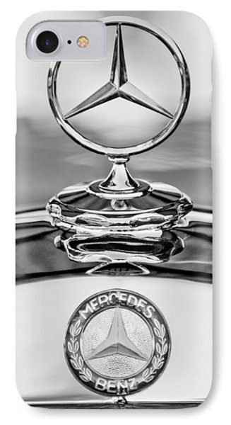 Mercedes Benz Hood Ornament 2 IPhone Case