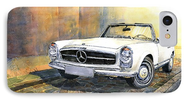 Mercedes Benz W113 280 Sl Pagoda Front IPhone Case