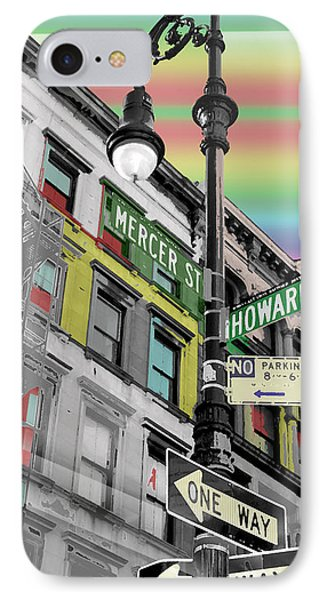 Mercer St IPhone Case by Christopher Woods