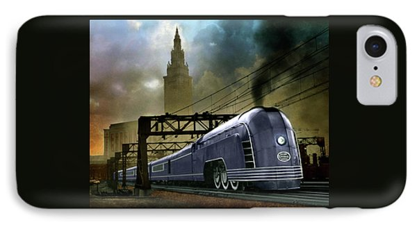 IPhone Case featuring the photograph Mercury Train by Steven Agius