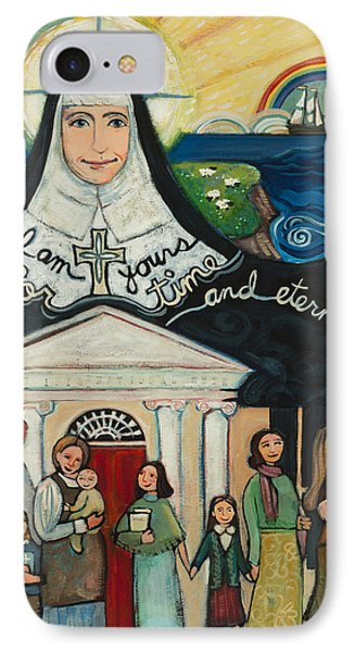 Mercy Foundress Catherine Mcauley IPhone Case by Jen Norton