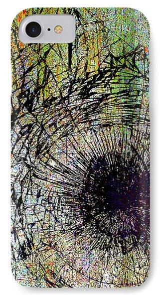 IPhone Case featuring the mixed media Mercy by Tony Rubino