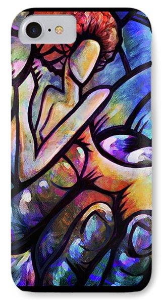 IPhone Case featuring the digital art Mercy's Hand by AC Williams