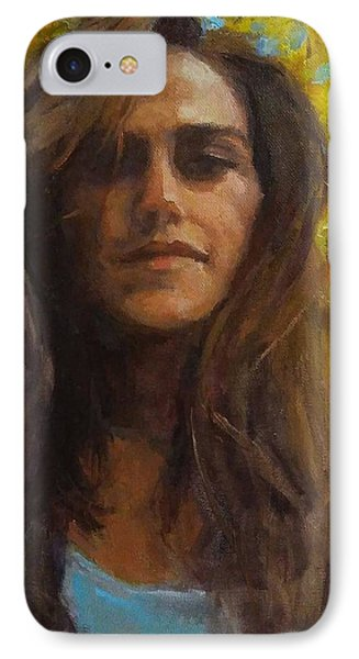 Meredith In Autumn Phone Case by Brian Kardell