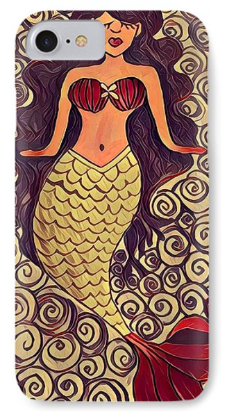 iPhone 7 Case - Mermaid Dreams by K Daniel