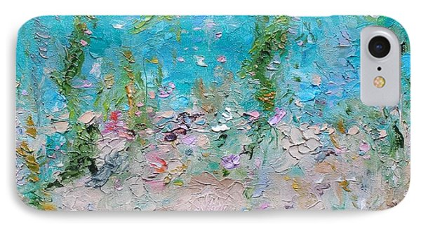 IPhone Case featuring the painting Mermaid Meditation by Judith Rhue