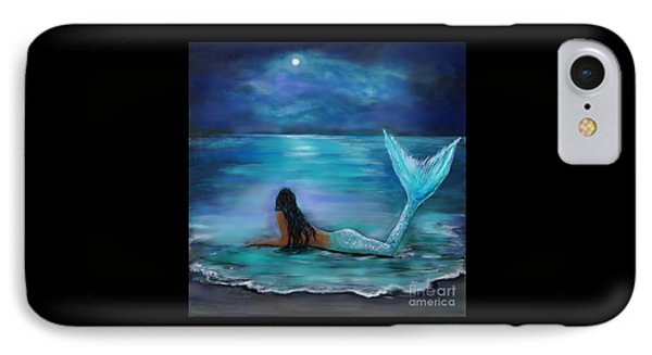 Mermaid Moon And Stars IPhone 7 Case